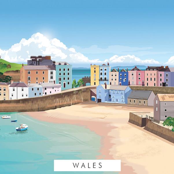 Wales prints