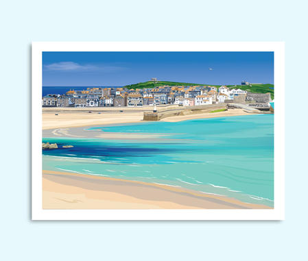 St Ives Cornwall painting