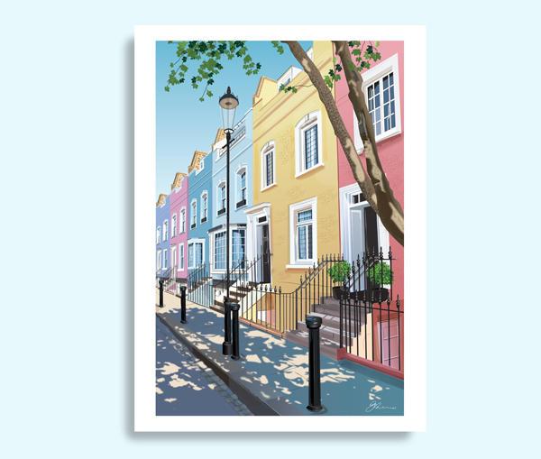 Bywater Street, Chelsea art print