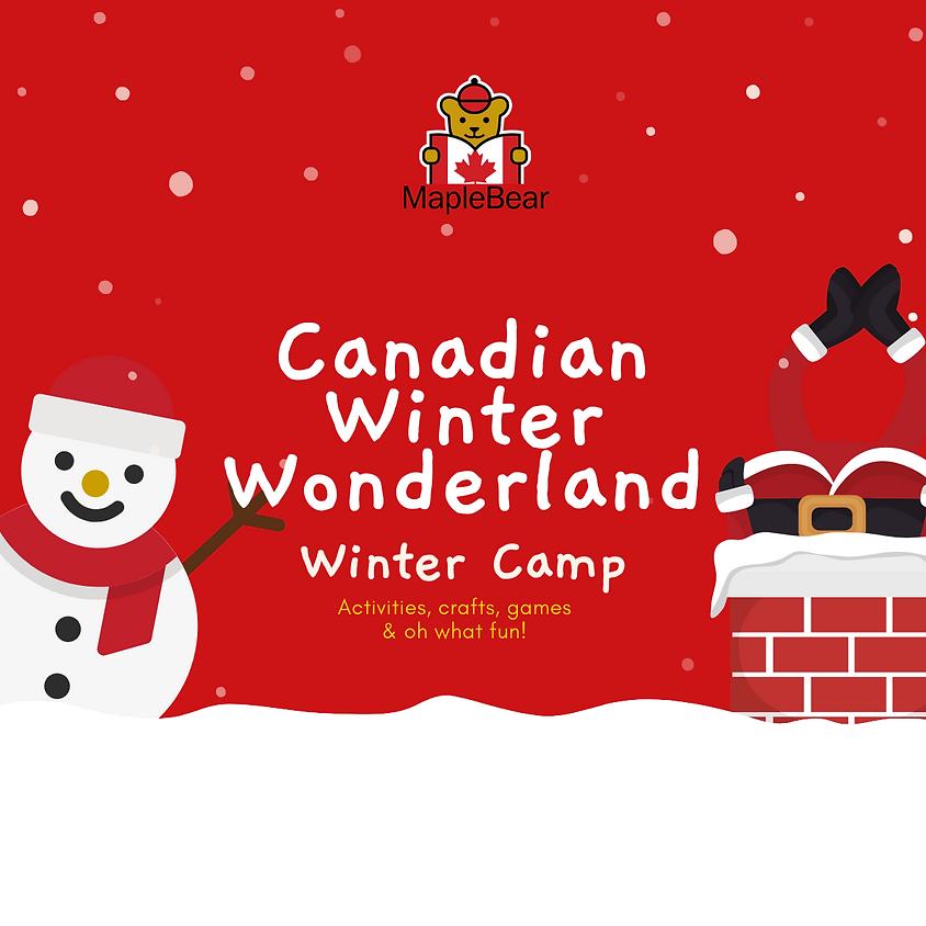 WINTER CAMP Canadian Winter Wonderland
