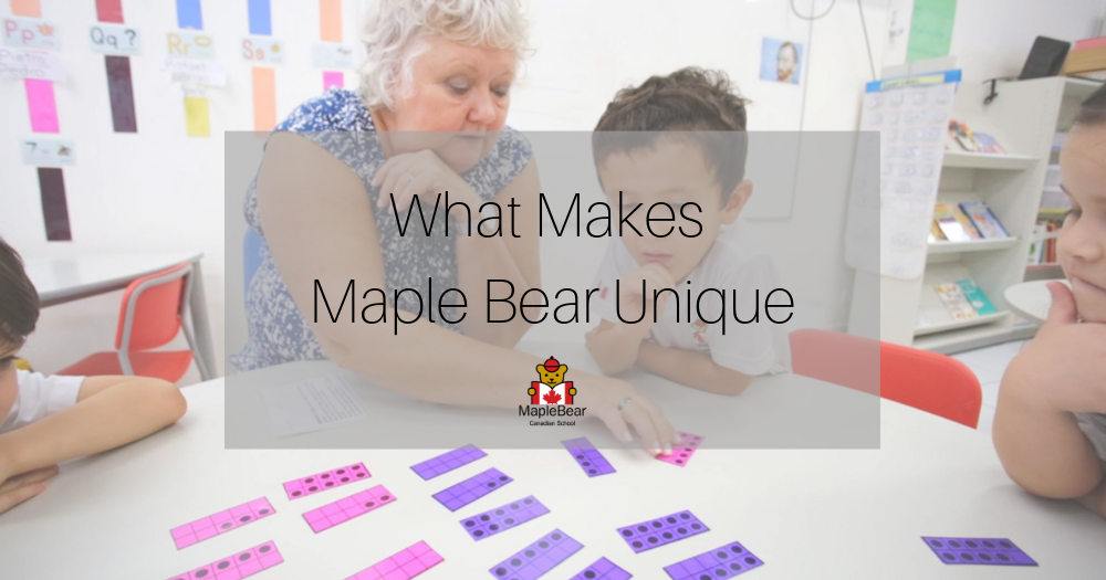what makes maple bear unique kindergarten hk