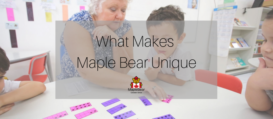 What makes Maple Bear unique