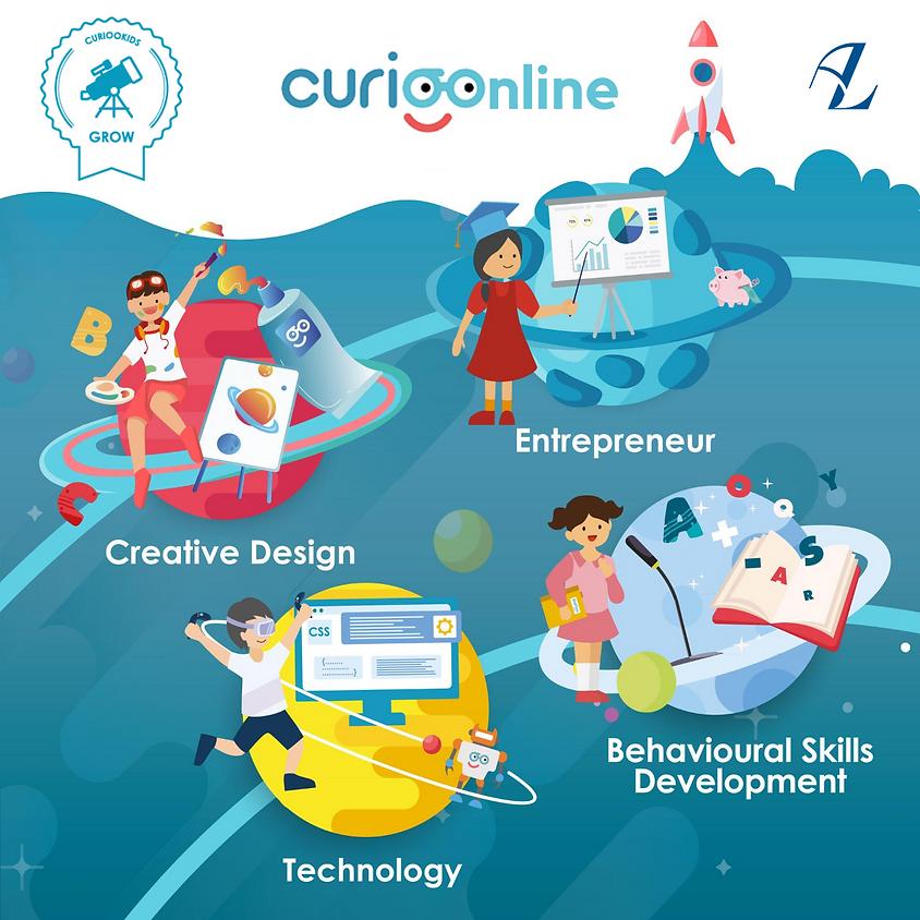CURIOOnline Workshop   Age 10-12