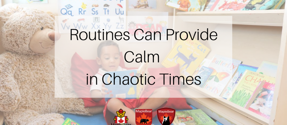 ROUTINES CAN PROVIDE CALM IN CHAOTIC TIMES