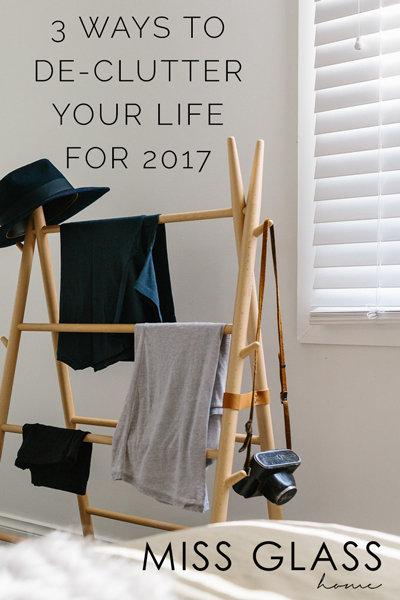 We're one week into 2017 and Instagram has been rife with #inspirational quotes for the year ahead. We've put together 3 easy ways to start your year right by de-cluttering your home for a fresh start.