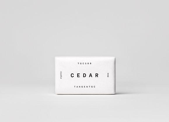Cedar soap bar