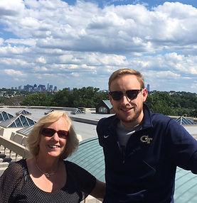Scott Schoen Jr, Tufts University, Boston Skyline