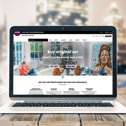 Artfuly Responsive Site