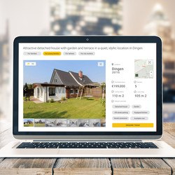 Responsive Real Estate Page