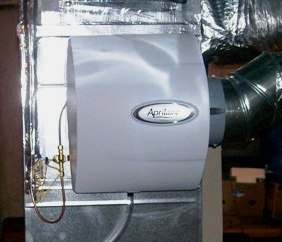 Aprilaire humidifier installation (3)