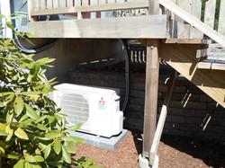 Mitsubishi heat pump, Mont Vernon NH