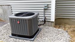 Rheem AC install