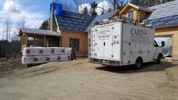new construction in progress,  Wilton NH