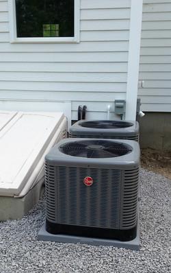 Rheem AC condenser
