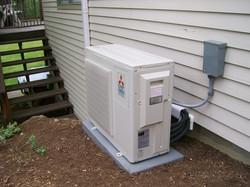 Mitsubishi ductless AC unit
