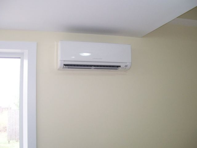 Mitsubishi ductless indoor unit (5)