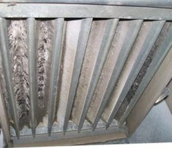 Dirty air conditioning coil!
