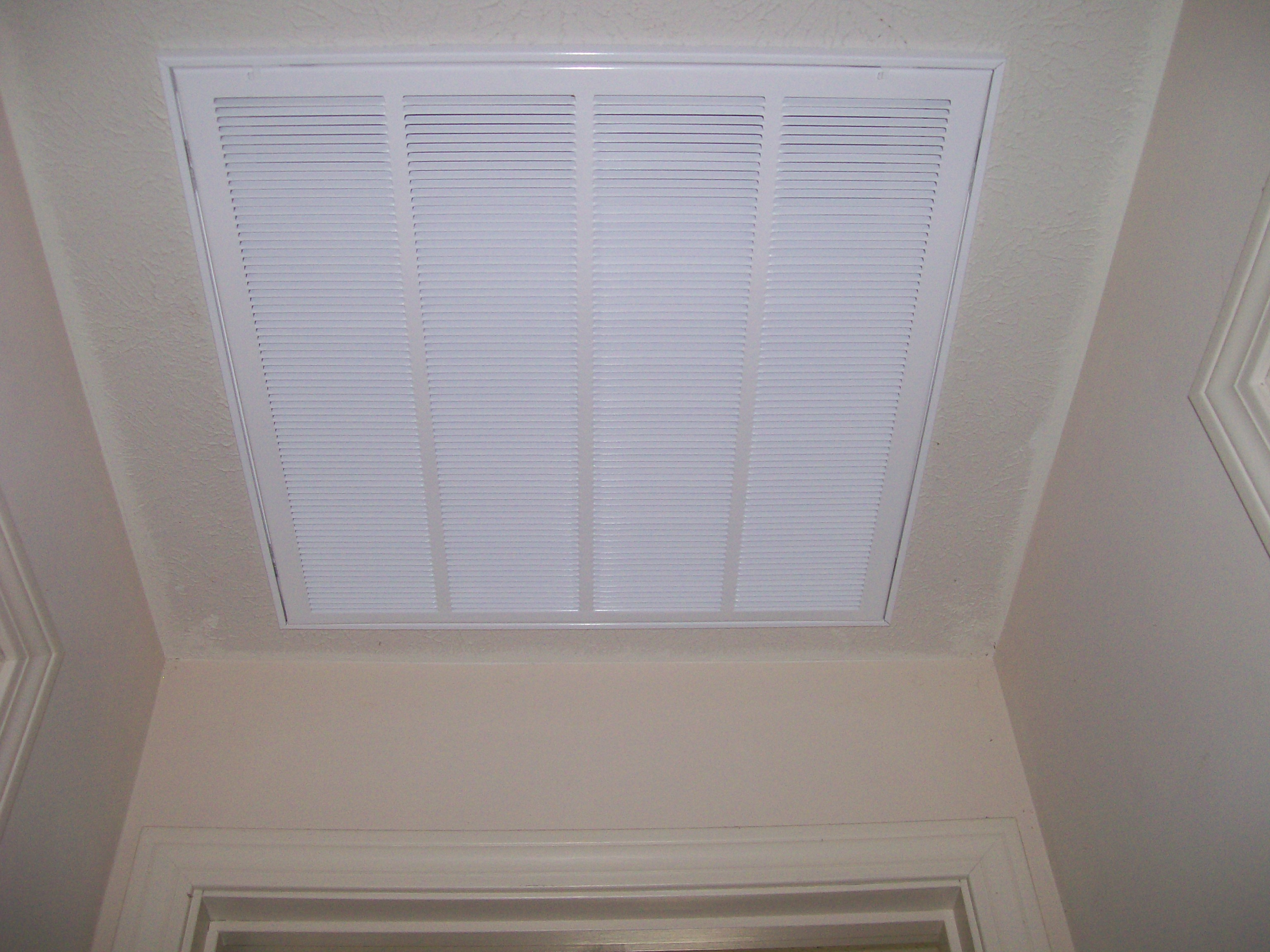 ceiling return grill