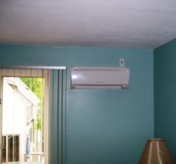 Mitsubishi ductless AC indoor unit