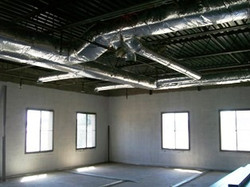 Commercial duct installation NH 2012