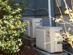 Mitsubishi heat pump install