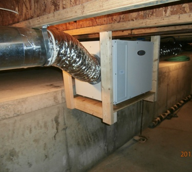 Aprilaire dehumidifier installation