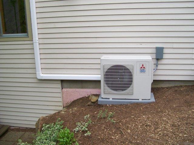 Mitsubishi ductless heat pump