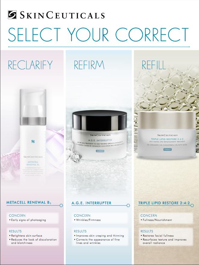 Corrective moisturizers to address specific skin needs