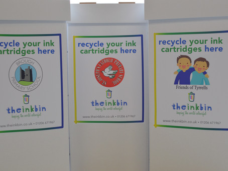 We've Just Ordered The Ink Bin- Start Collecting Your Empties!