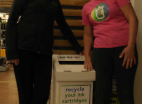 Recycle Your Ink Cartridges at Gravelle's Budgens Sawbridgeworth