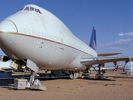 jumbo jet and airliner recycling: covid aftermath