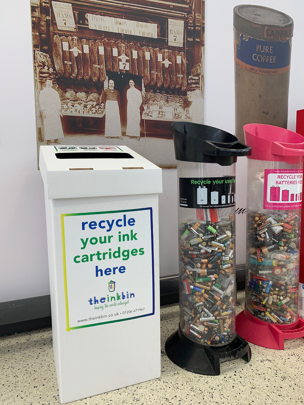 the winning ink bin designs will be added to our community recycling bins in supermarkets and community venues