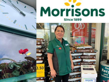 It's Time To Drop Your Empty Ink Cartridges at Morrisons
