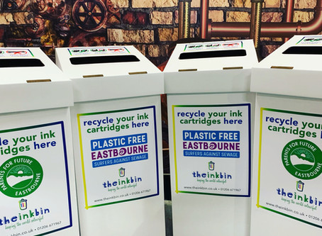 Can You Give An Ink Bin A Home and Save Cartridges From 1000 Years in Landfill?