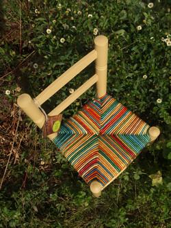 Petite chaise en Farrow & Ball