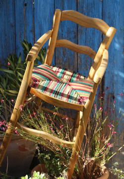 Chaise haute Louis-Philippe