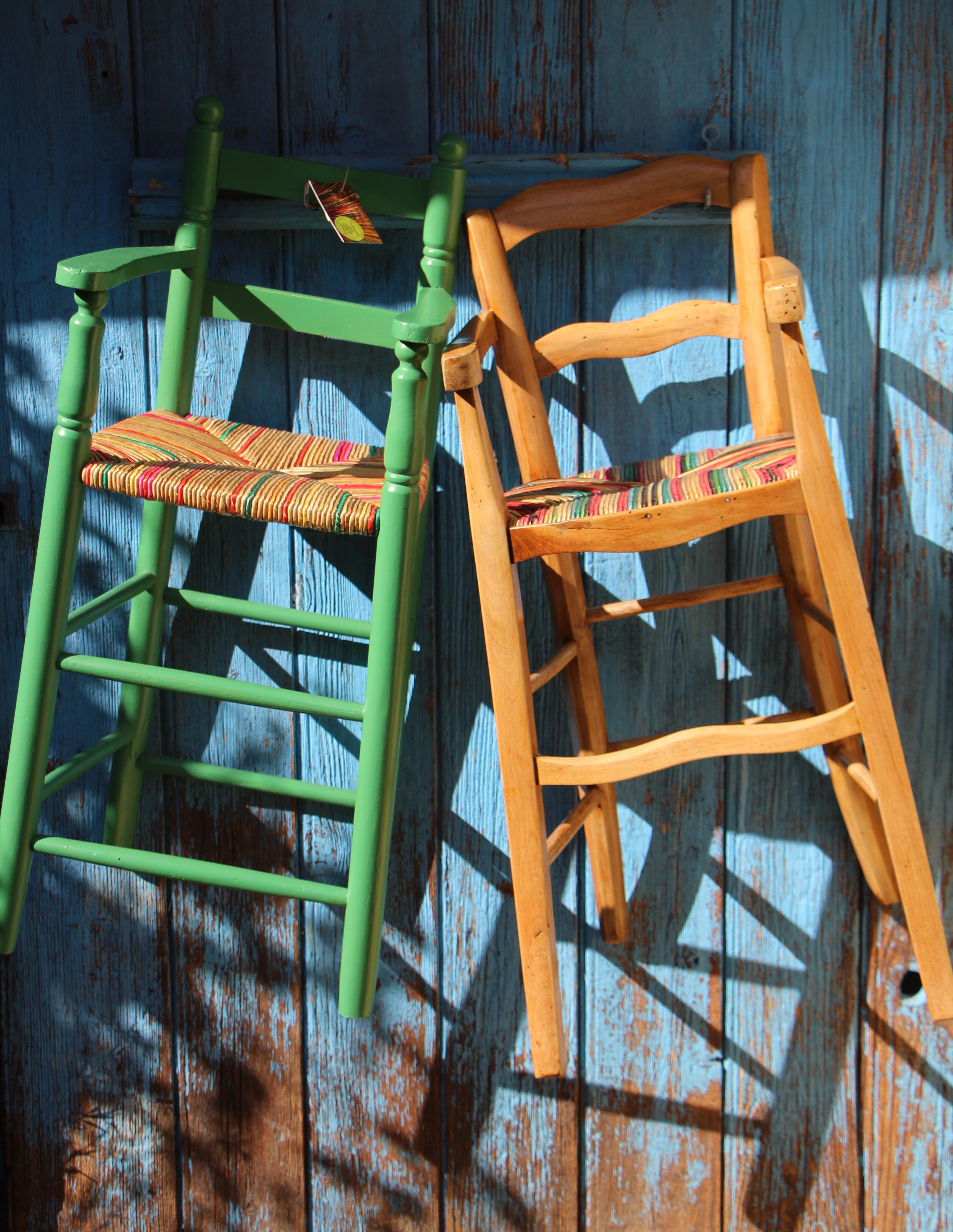 Duo de chaises hautes