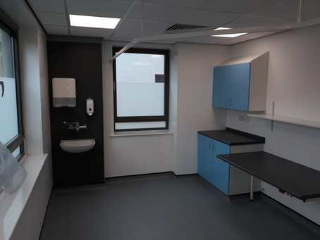 Increasing the utilisation of void space within Hornsey Health Care Centre