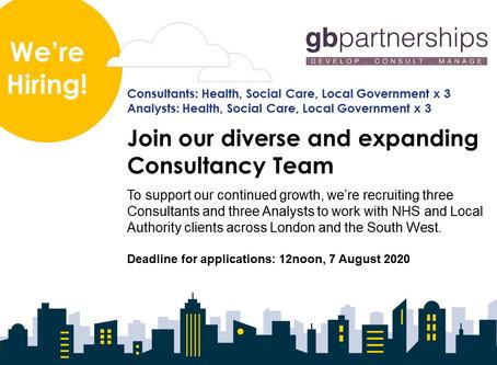 Consultancy Team Job Vacancies