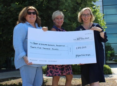 gbpfoundation celebrates its first year of funding good causes