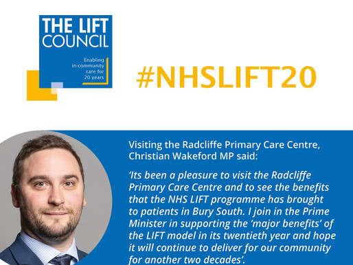 MP visits Radcliffe Primary Care Centre