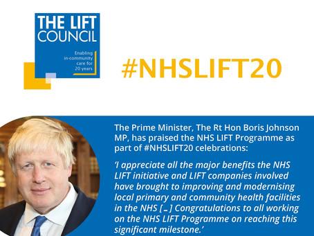 PM praises 'major benefits' of NHS LIFT Programme as part of twentieth anniversary celebrations