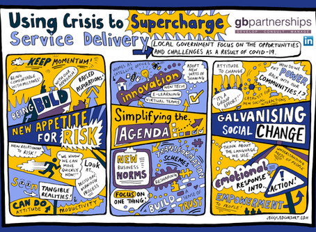 Using Crisis to Supercharge Service Delivery