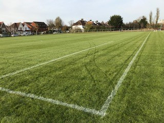 Works Completed on Sport Pitches at Finchley Memorial Hospital