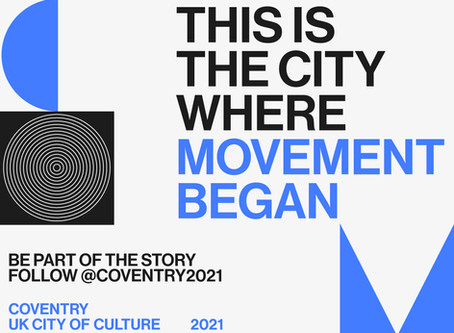 Proud to be part of the journey to Coventry becoming UK City of Culture 2021