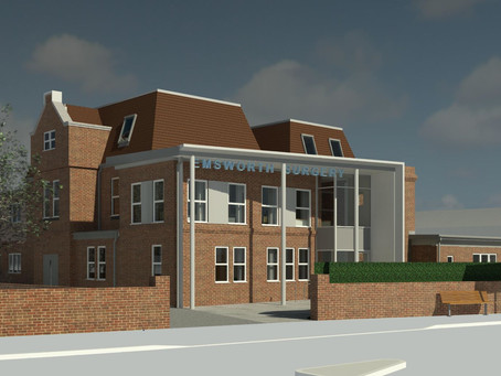Delivery of a new GP Surgery for Emsworth, supported by gbp's NHS Estate Consultancy Services