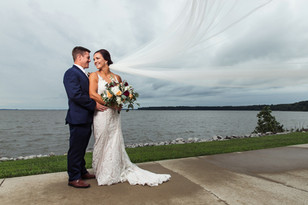 Real Mia Grace Bride: Wedding of Cortney and Kyle