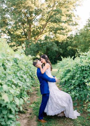 Real Mia Grace Bride: Wedding of Lauren and Steve