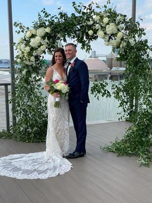 Real Mia Grace Bride: The Wedding of Monica and Matt