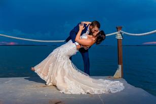 Real Mia Grace Bride: Wedding of Mariah and David